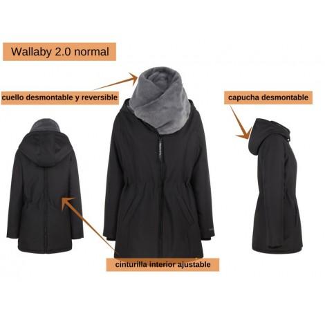 abrigo porteo wallaby 2.0