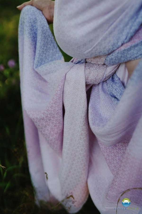 fular tejido algodón y tencel porteo