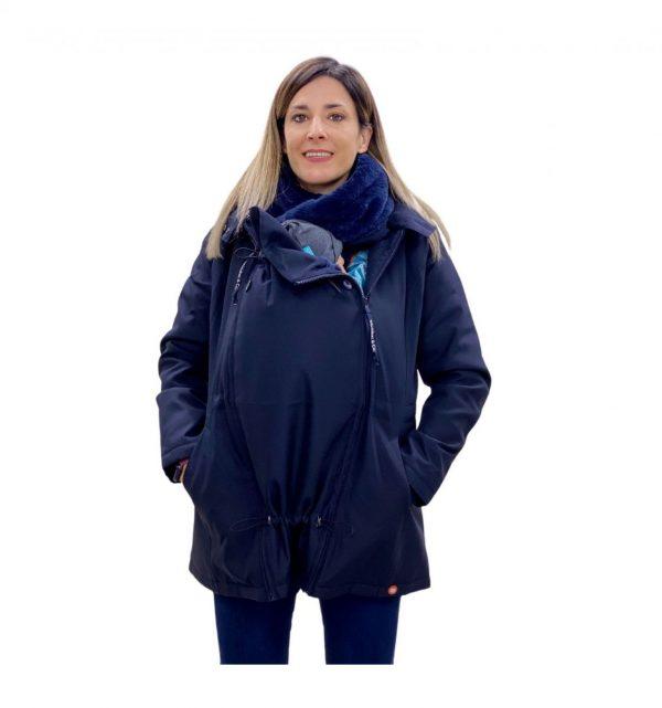 Abrigo De Porteo Y Premamá wallababy Azul Marino